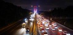 Fatih Sultan Mehmet Köprüsü'nün birinci etabı tamamlandı