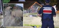 Köyde yaşanan cinayeti güvenlik kamerası ortaya çıkardı