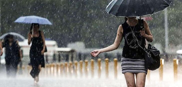 Meteoroloji uyardı! Sağanak yağış geliyor…