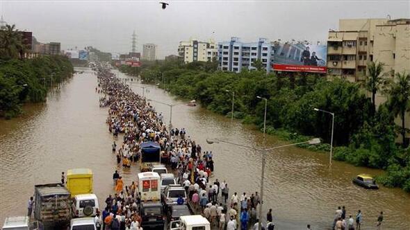Hindistan Malappuram Yağış