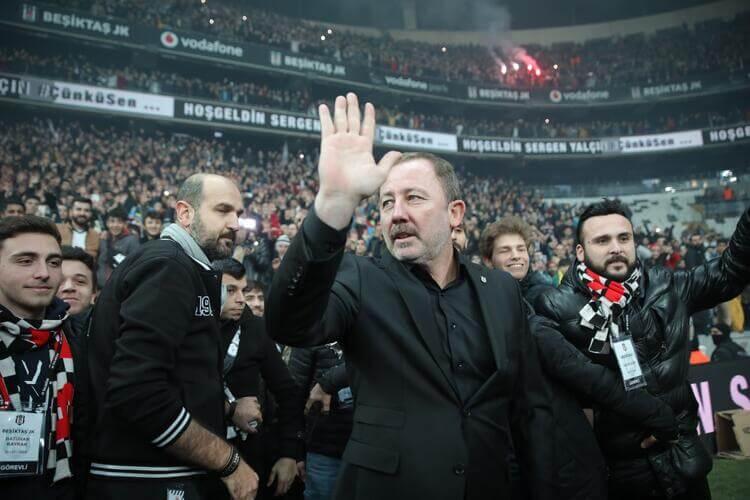 Sergen Yalçın Beşiktaş