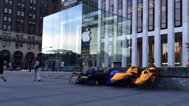 iPhone 6 kuyruğu şimdiden başladı!
